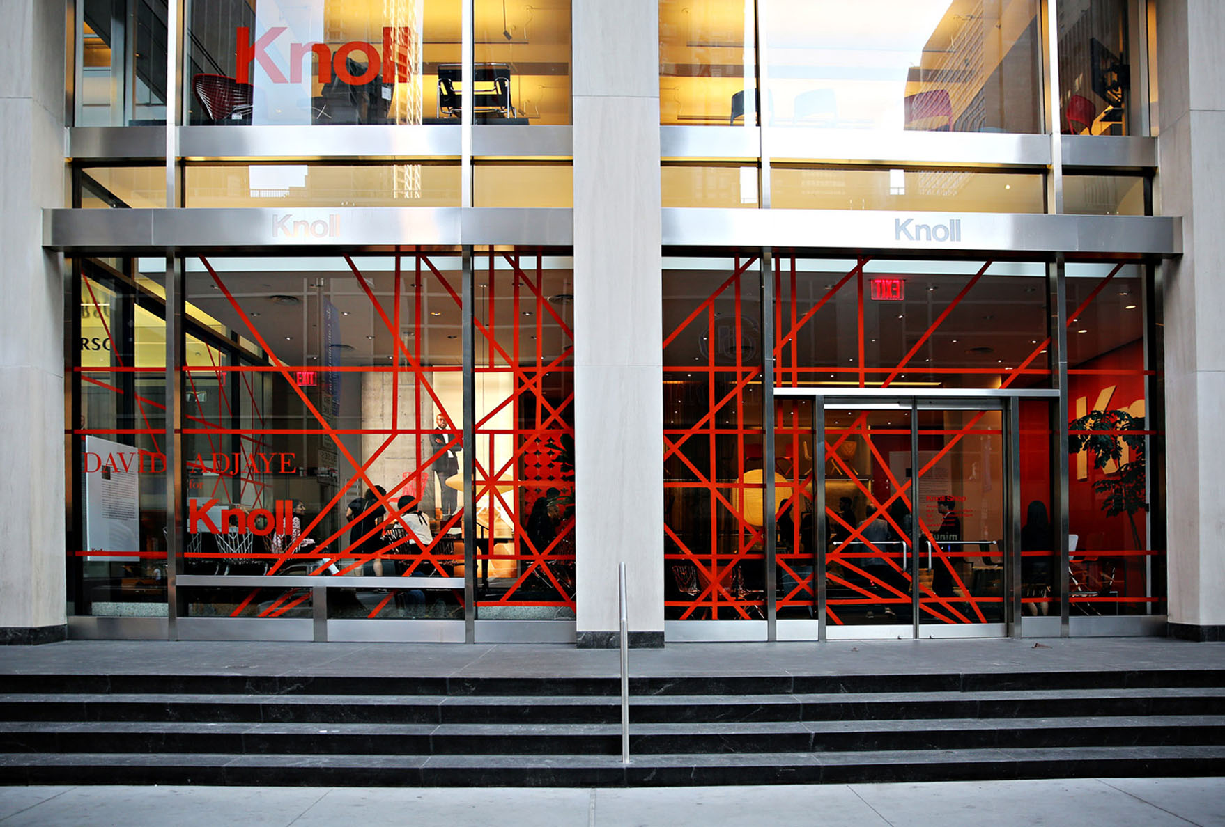 knoll showroom launch