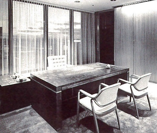 bank of nsw general managers office 1969