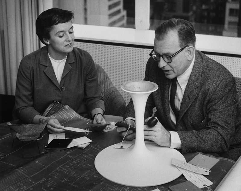 florence knoll and eero saarinen