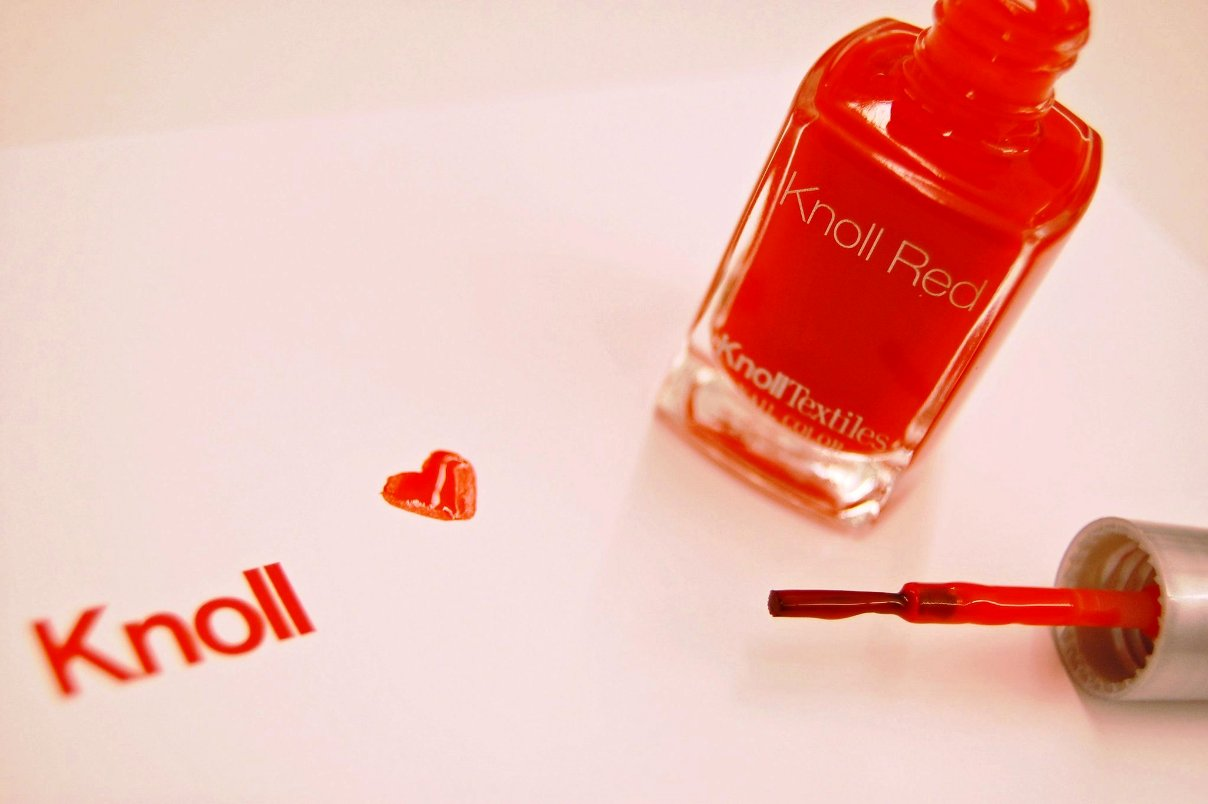 knoll red polish