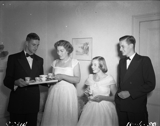 neville marsh far left 1950