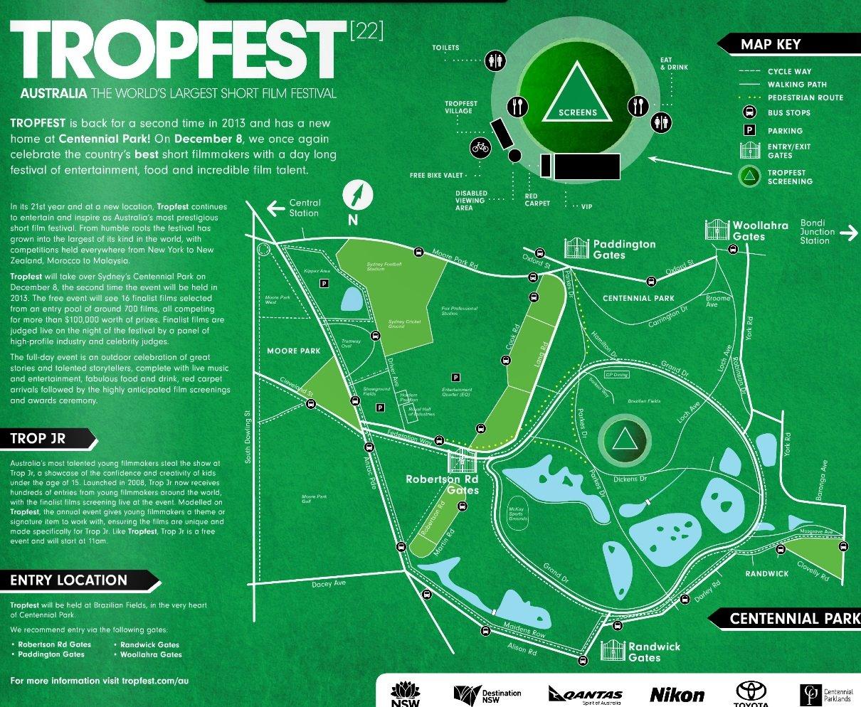 tropfest guide