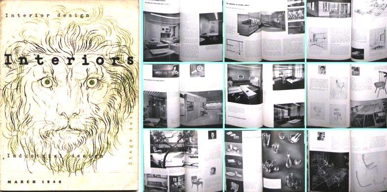 1946 Knoll Planning Unit INTERIORS + INDUSTRIAL DESIGN