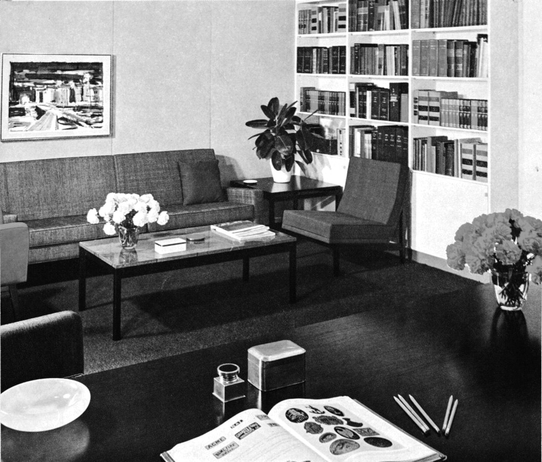 1957  first national bank of miami presidents office