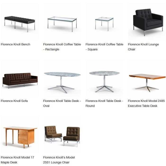 florence knoll designed products