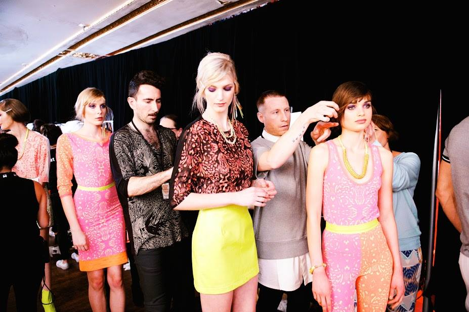 ALEXI FREEMAN TRANS-SEASONAL PYTHON COLLECTION - Behind the scenes at Melbourne Spring Fashion Week 2013