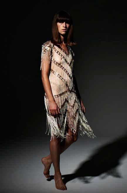 Alexi Freeman and Tessa Blazey - neo lace gown