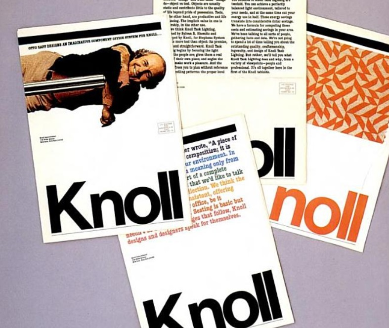 knoll newspaper 1972 b