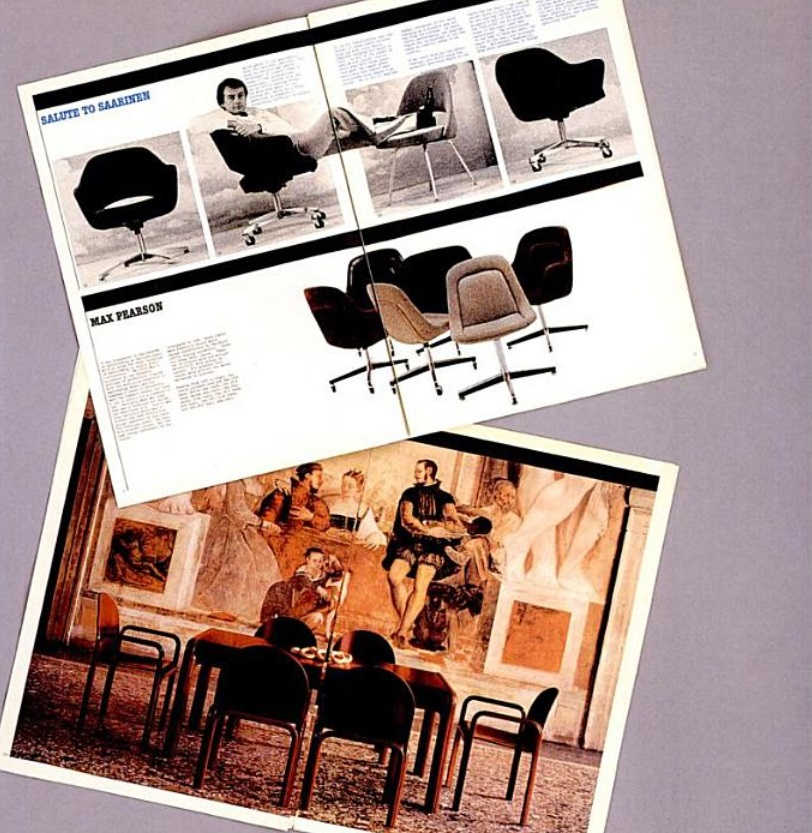 knoll newspaper 1972