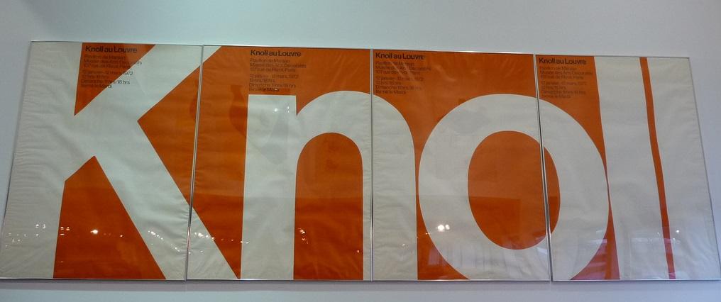 knoll paris louvre poster