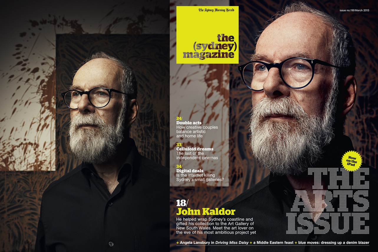 the Sydney magazine john kaldor mar 2013