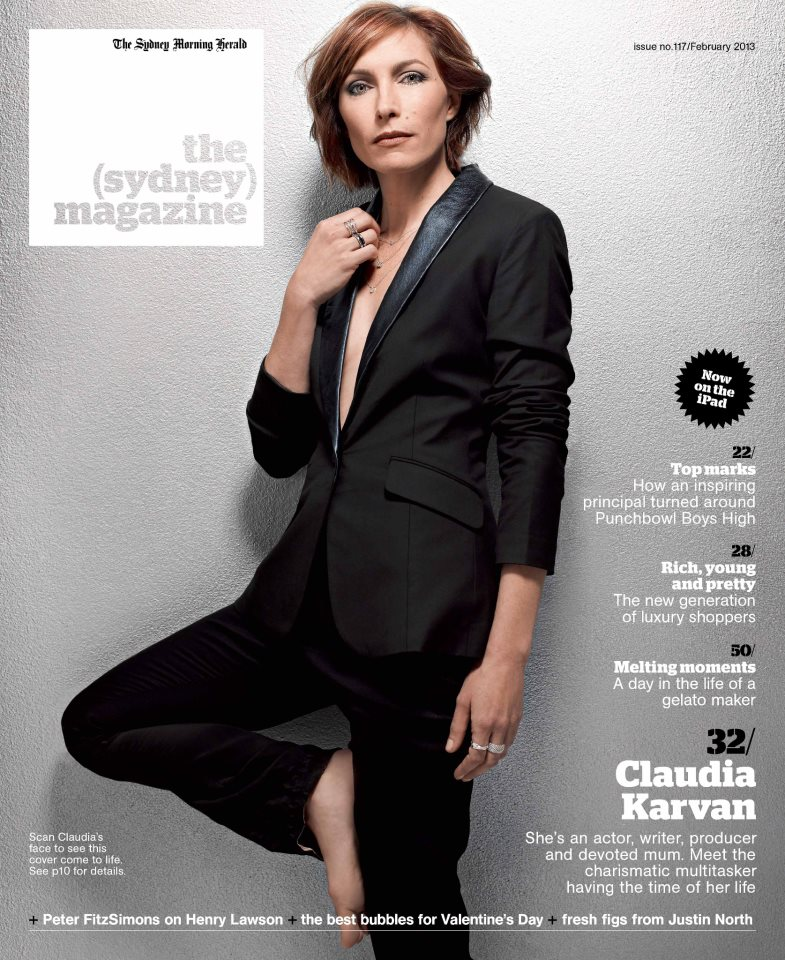the sydney magazine claudia karvan feb 2013