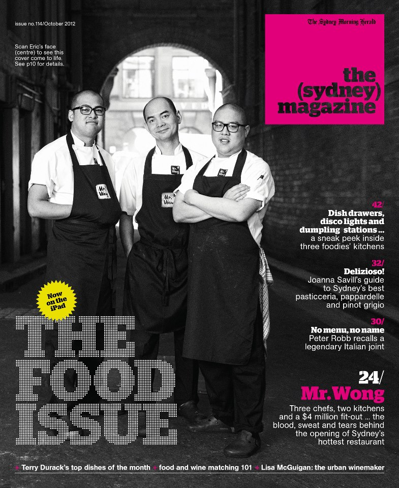 the sydney magazine food issue oct 2012