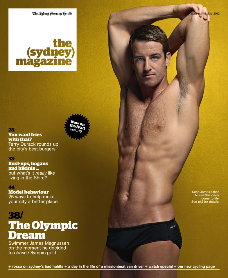 the sydney magazine james magnussen jul 2012