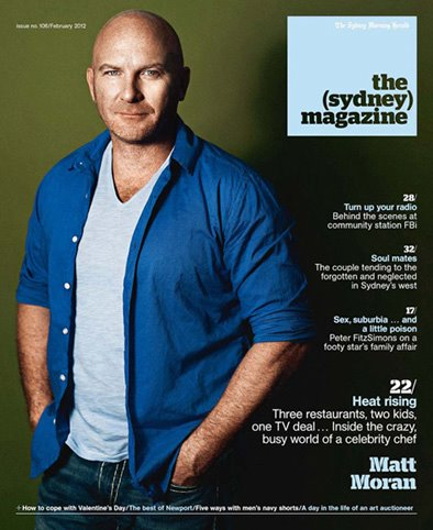 the sydney magazine matt moran feb 2012