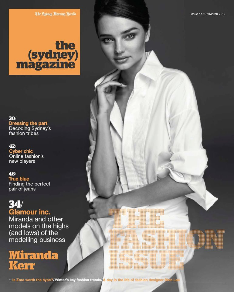 the sydney magazine miranda kerr