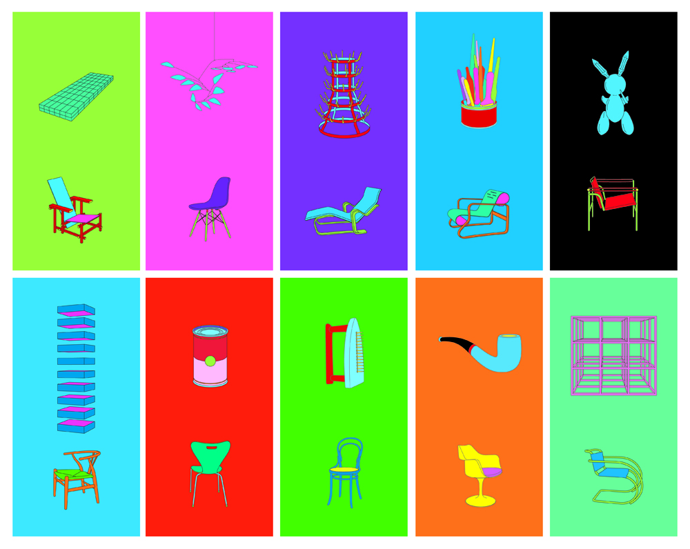 Michael-Craig-Martin-2012 objects