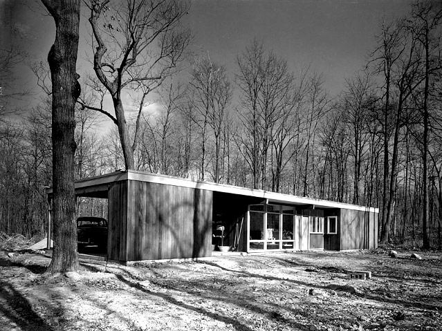Norman Cherner, Pre-Built House for U.S. Department of Housing, Washington, D.C