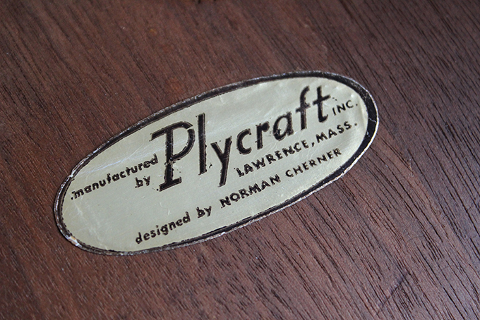 The Label underneath the Plycraft chairs indicate that they were produced after the 1964 lawsuit