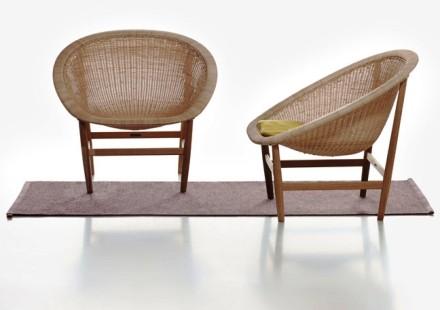 Ditzel Basket Chair for Kettal @ Salone Milan 2014