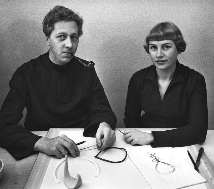portrait of danish designers nanna and jørgen ditzel