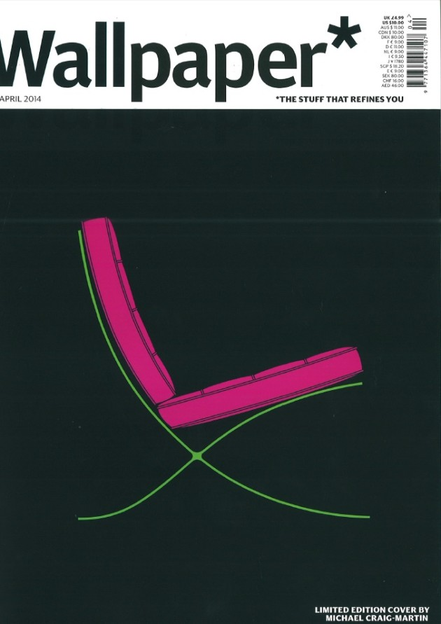 Barcelona Chair by Michael Craig-Martins for Wallpaper