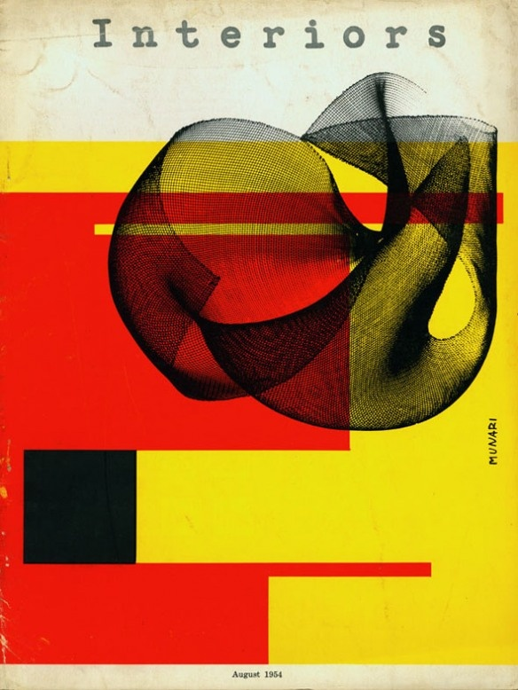 1954 bruno munari interiors