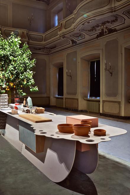 Caesarstone Islands @ Salone Milan 2014