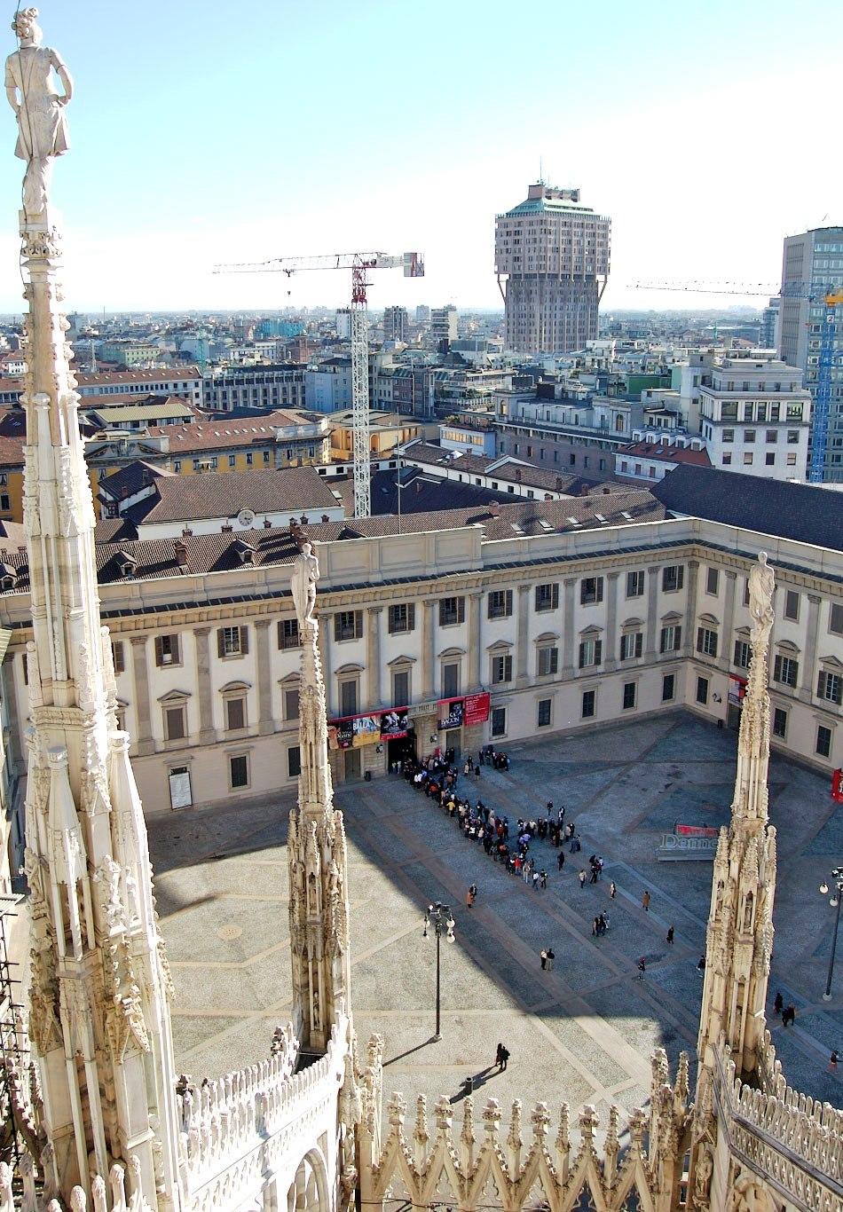 Palazzo Reale Piazzetta Milano