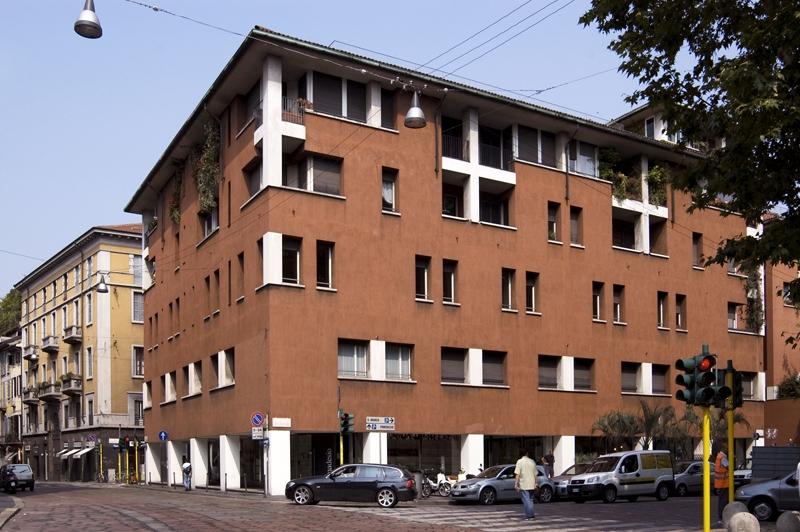Prospetto San Marco apt bldg , 1970-73 2