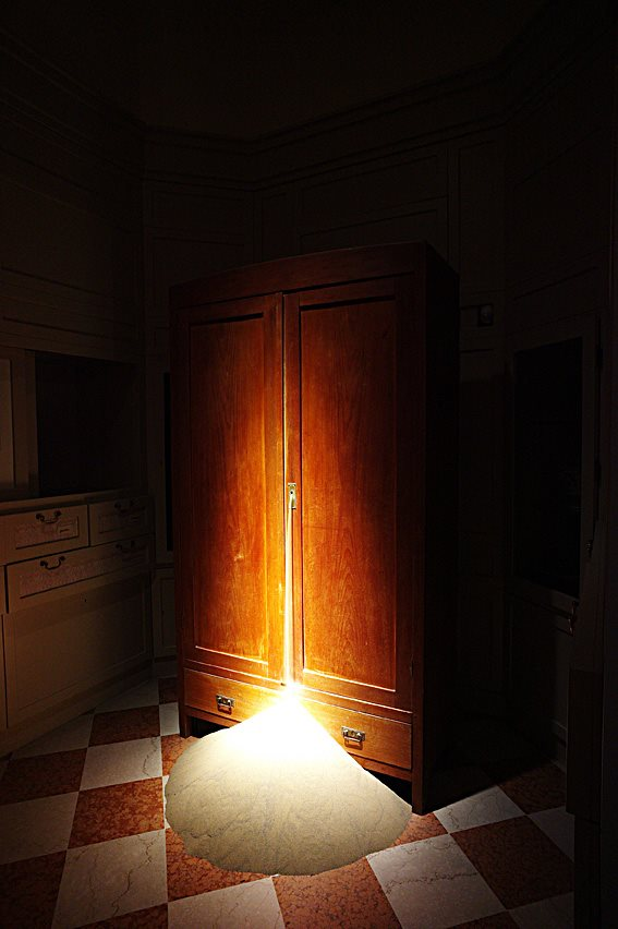 Secrets in the Cupboard by Carlo Bach, Wood and Sand