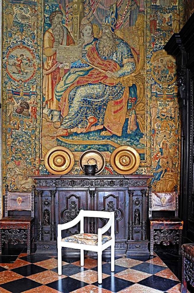 Yukiko Nagai Mosaic chair