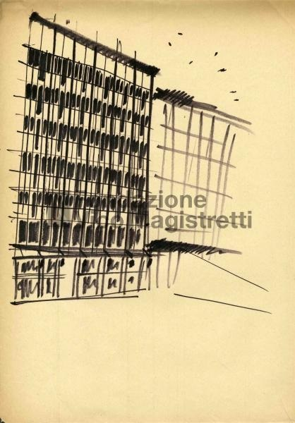 corso Europa office bldg 1957 drawing 0