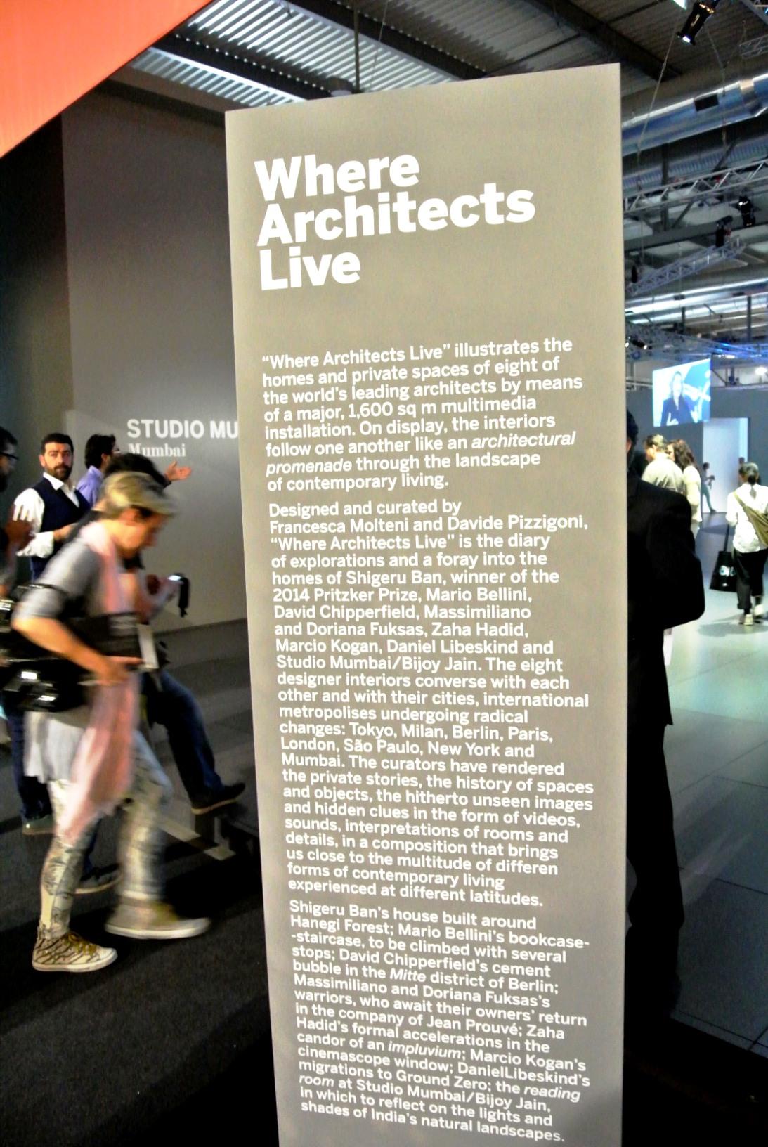 dedece where architects live salone 2014 (1)