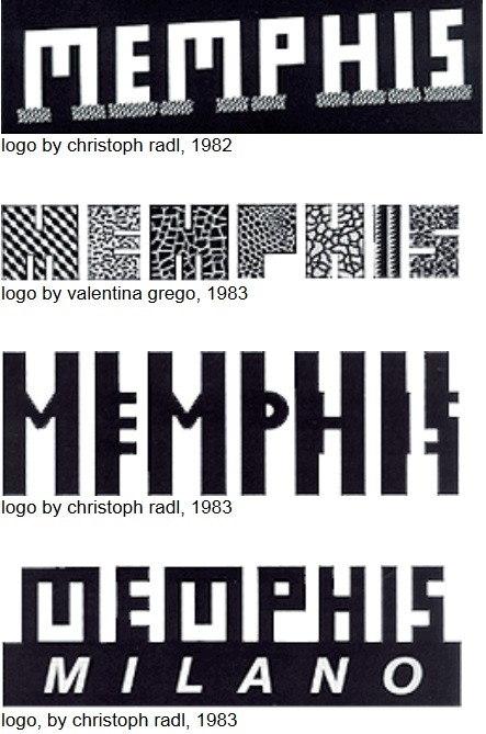 early memphis logos
