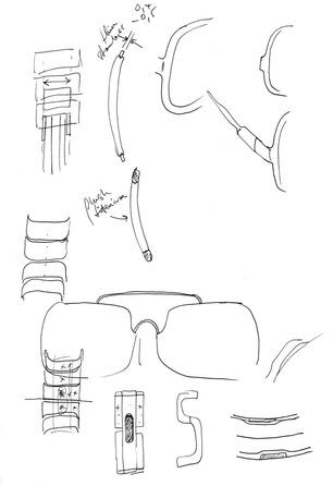 marc newson sketchs