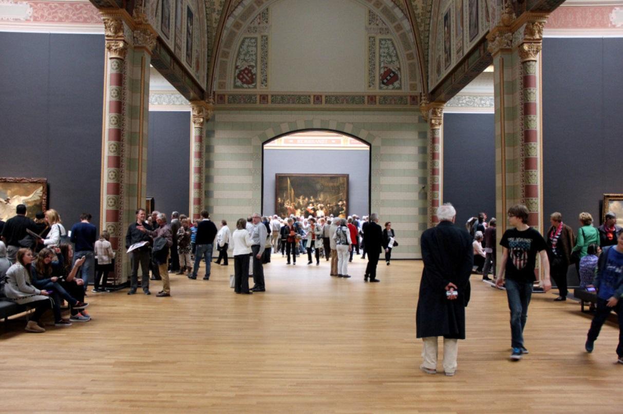rembrandt night watch at rijksmuseum