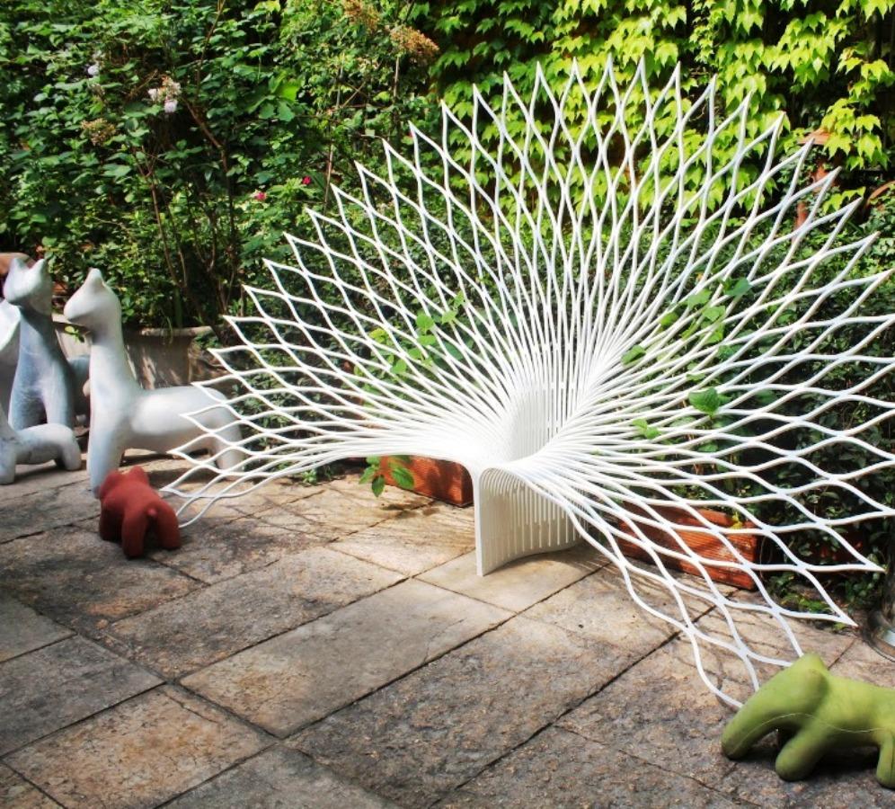 rossana orlandi salone 2014 peacock chair