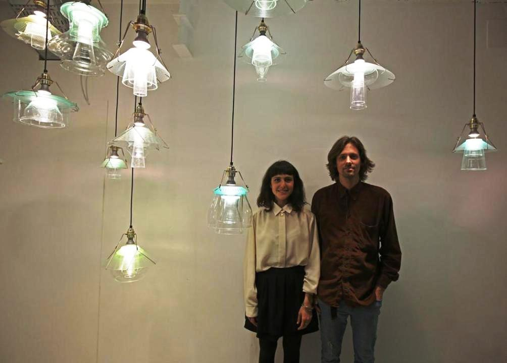 rossana orlandi salone 2014 stacked lamps (2)