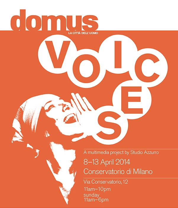 salone milan 2014 domus voices poster