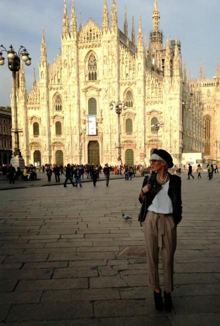 Street Fashion Style @ Salone Milan 2014