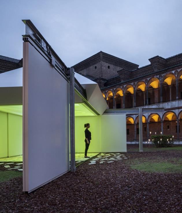 Sliding Nature by Torafu Architects @ Salone Milan 2014