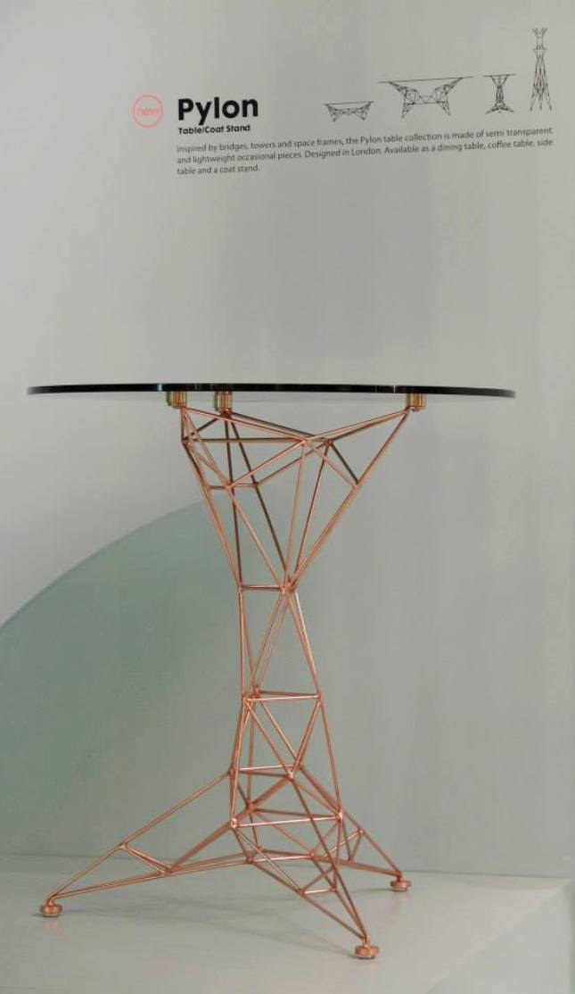 tom dixon pylon table