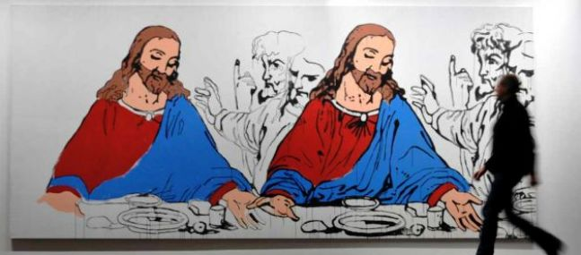 warhol last supper 2
