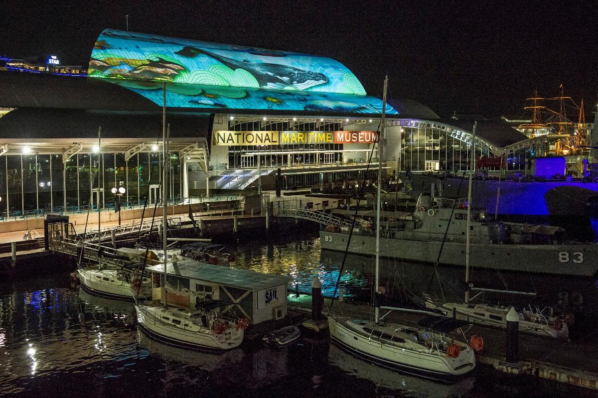 Vivid Sydney Maritime Museum 4