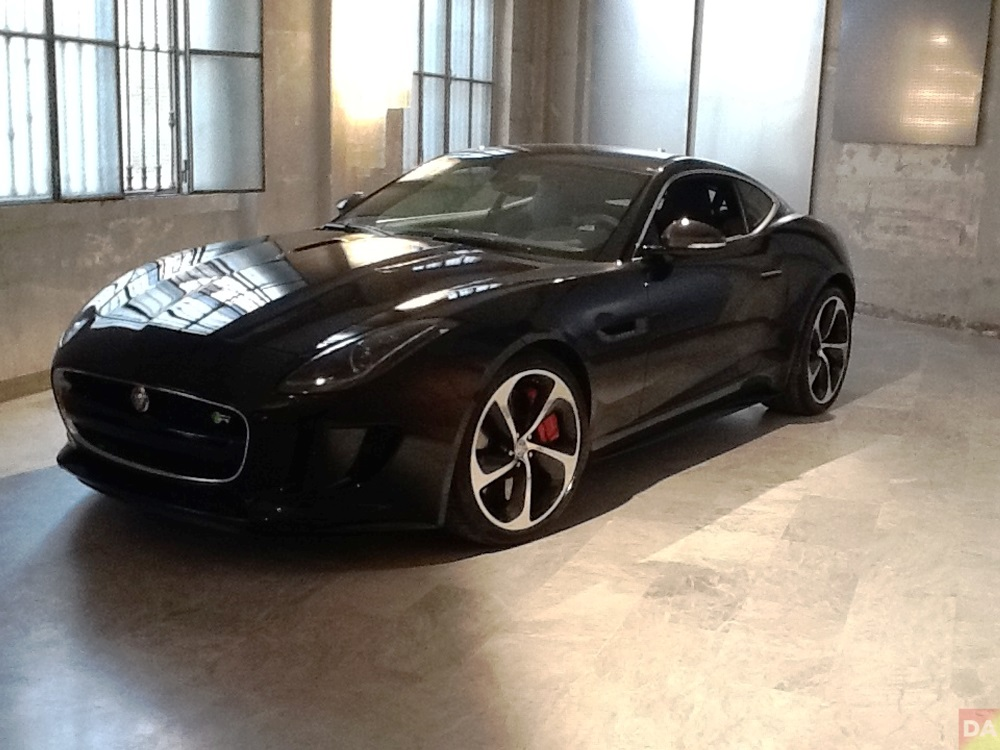f type jaguar at wallpaper handmade