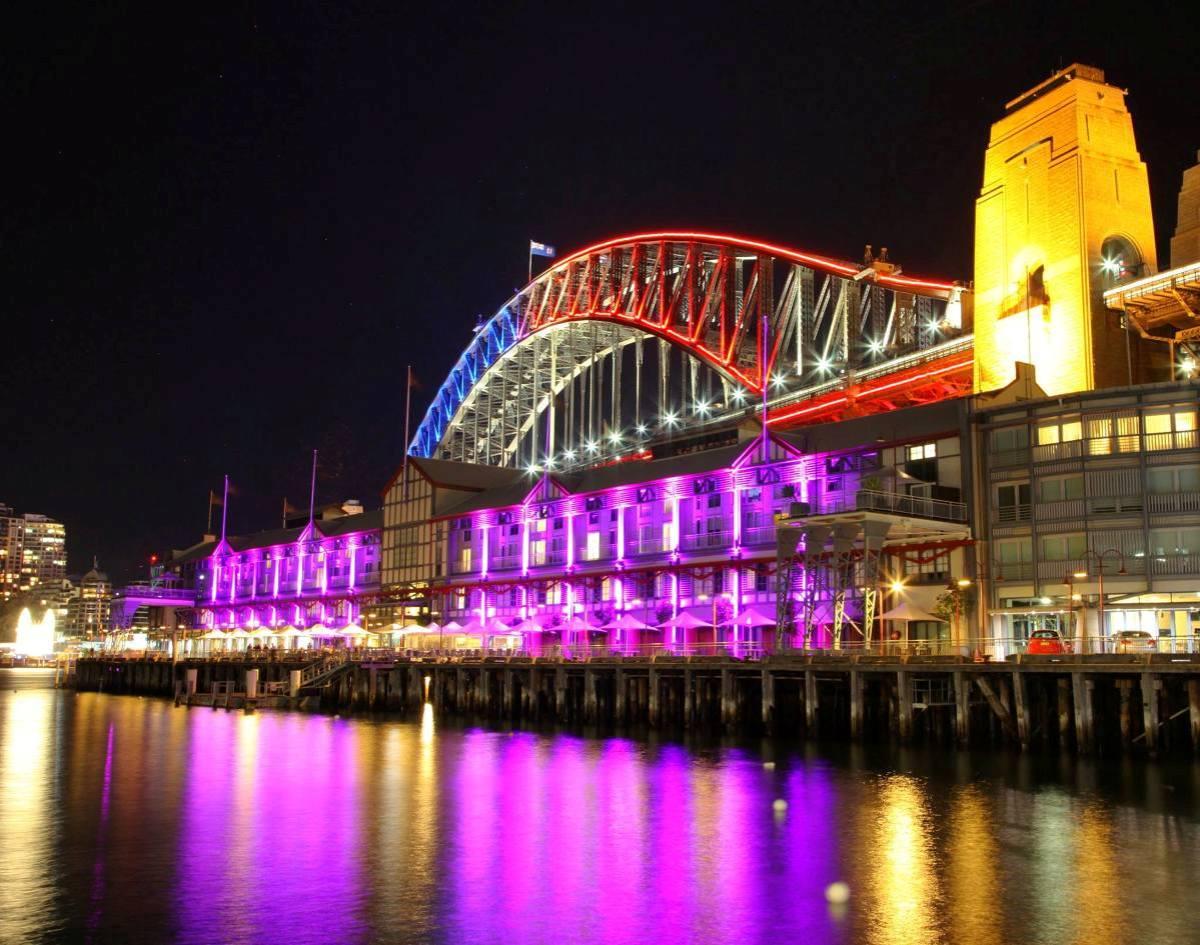 sydney harbour bridge vivid festival 2014 (2)