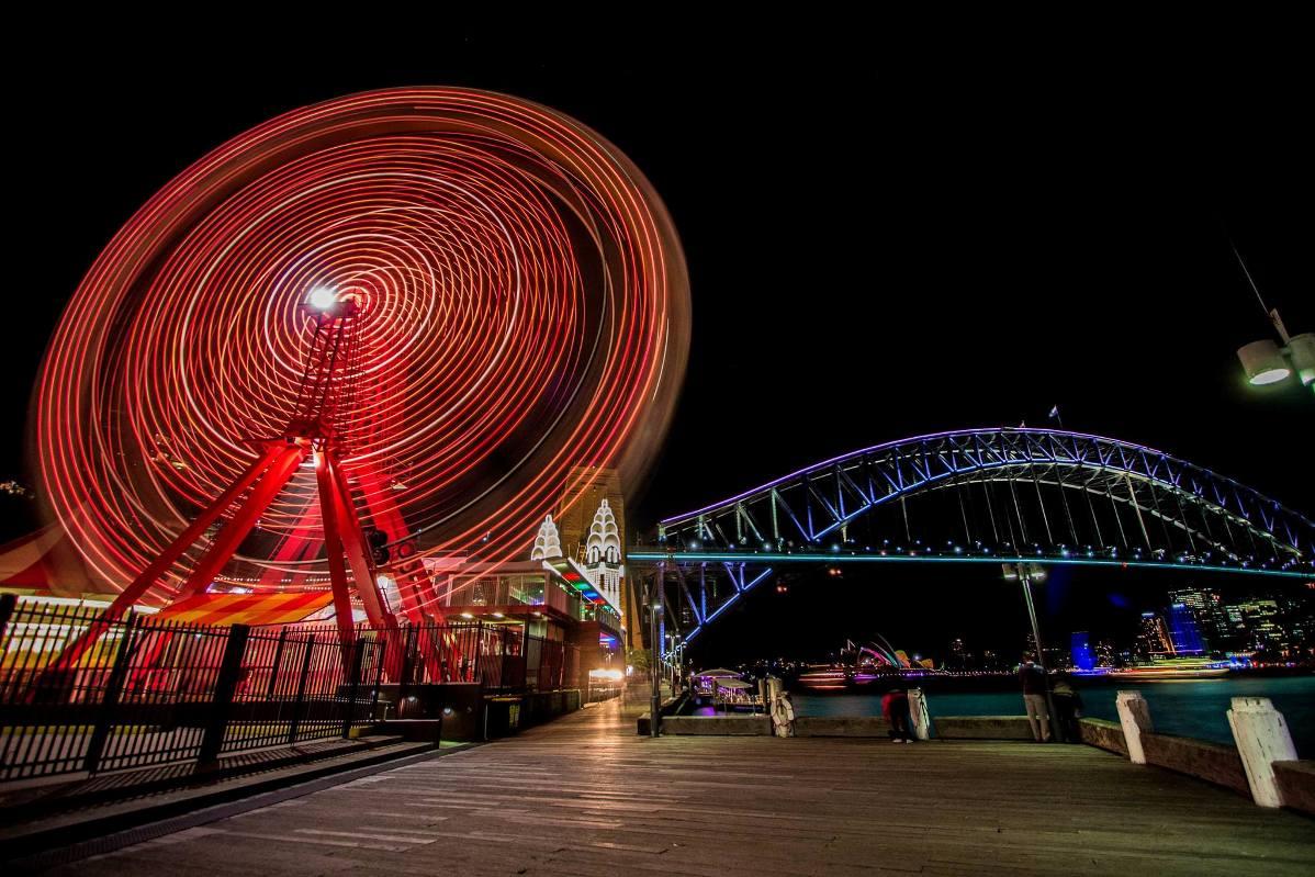 sydney luna park vivid festival 2014 (3)