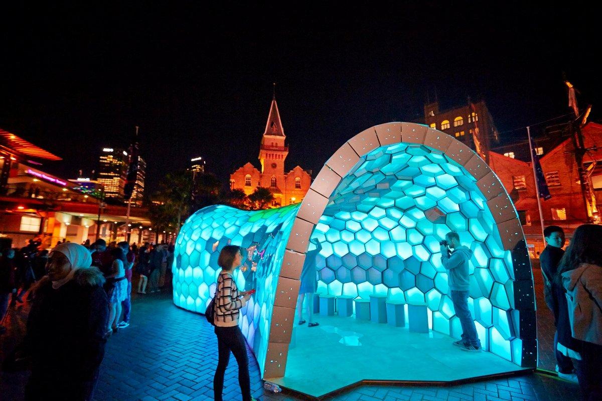 the rocks walk of light vivid festival 2014 (2)