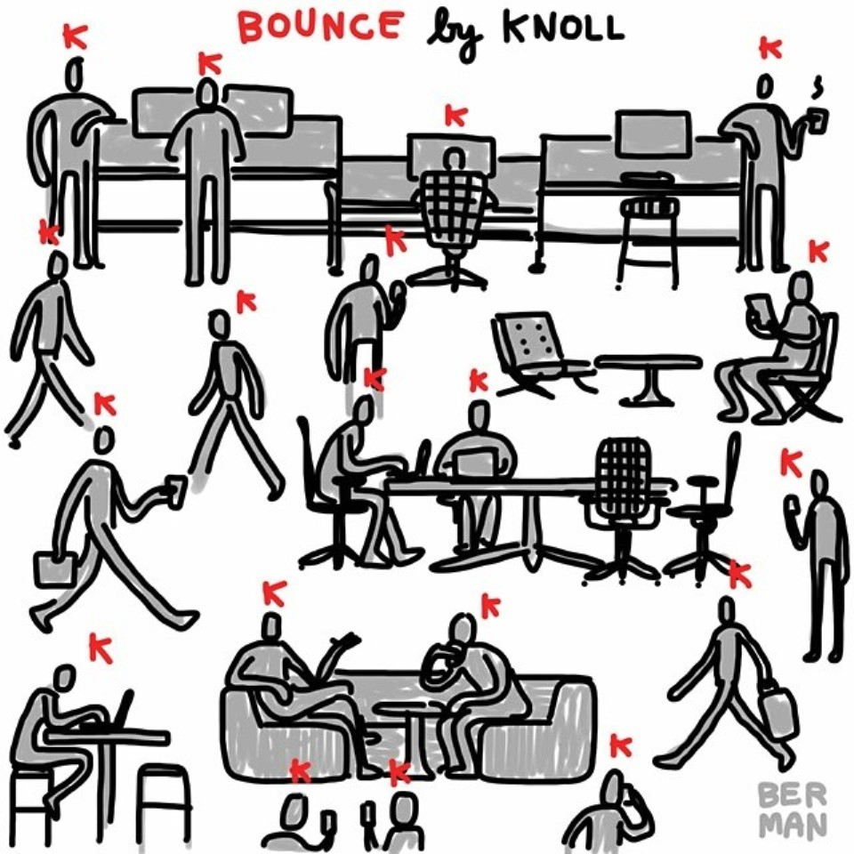 bounce by knoll
